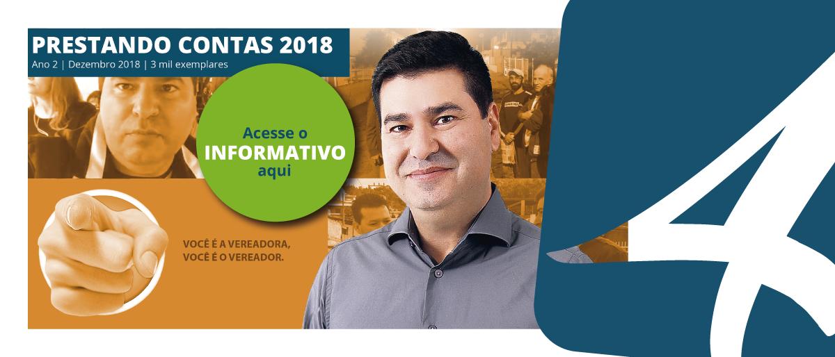 Link permanente para: PRESTANDO CONTAS 2018: Nardi Arruda sintetiza principais ações e conquistas